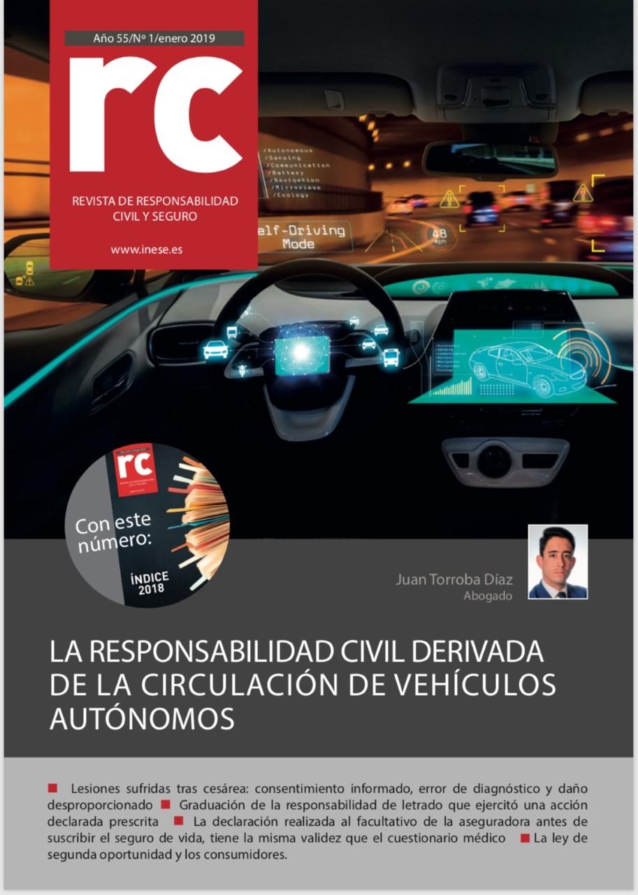 Responsabilidad Civil Derivada de la Circulación de VehículosAutónomos